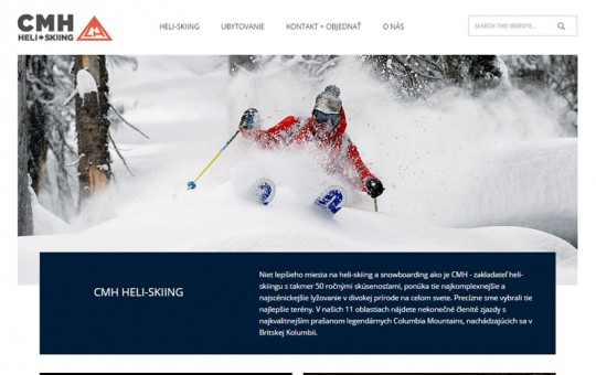 HeliSkiing: WordPress + Redesign + 2 languages + Consult.