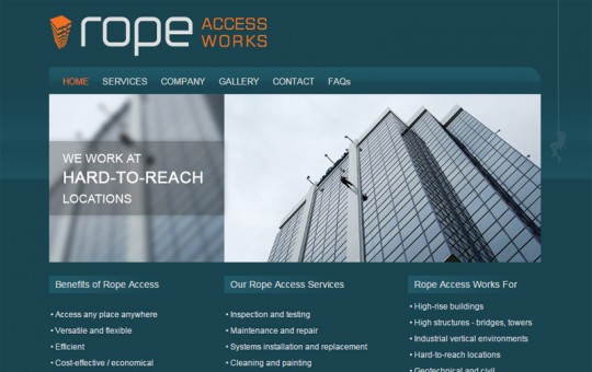 Rope Access: Design & Dev + SEO + Google Ads + Content